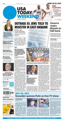 USA Today - 04/18/14