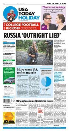 USA Today - 08/29/14
