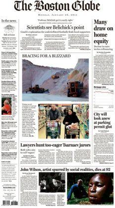 Boston Globe - 01/26/15