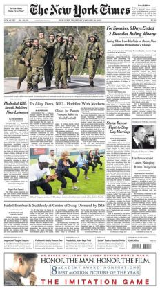 New York Times - 01/29/15