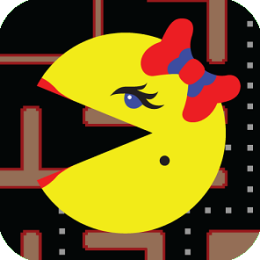 Ms PAC-MAN by Namco