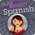 Product Image. Title: Play & Learn Spanish - Speak & Talk Fast With Easy Games, Quick Phrases & Essential Words