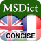 Dictionary English <-> French CONCISE by PONS