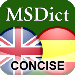 Dictionary English <-> Spanish CONCISE by PONS