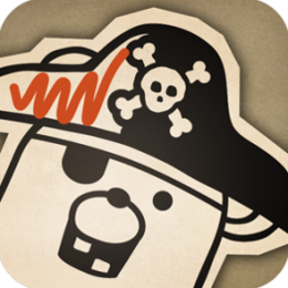 Pirate Scribblebeard's Treasure by Kidoodle - Your child's drawings come to life!