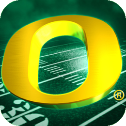 Oregon Ducks Revolving Wallpaper