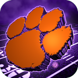 Clemson Tigers Revolving Wallpaper