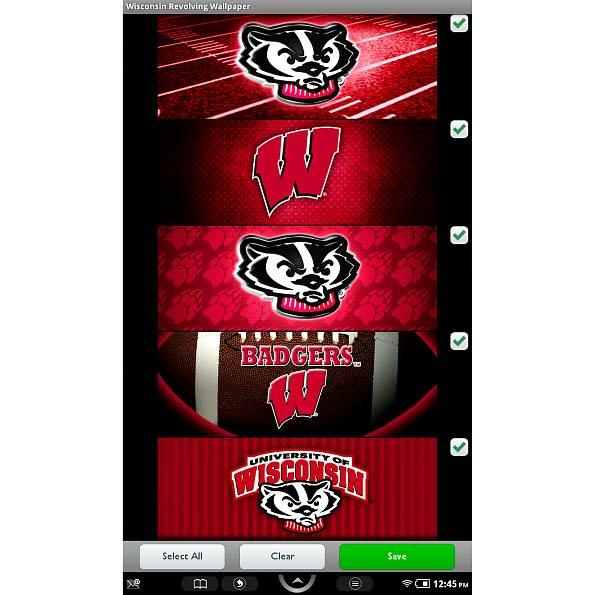 pics photos wisconsin badgers licensed wallpaper