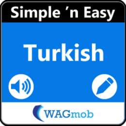 Learn Turkish (Speak and Write) by WAGmob