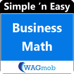 Business Math by WAGmob