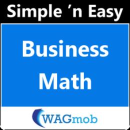 Business Math by WAGmob