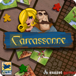 Carcassonne - Classic Tile Strategy Board Game