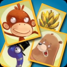 Monkey Memory Match