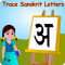 Trace Sanskrit and English Alphabets