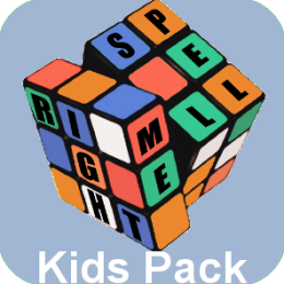 Kids Elementary Grade Pack for Spell Me Right