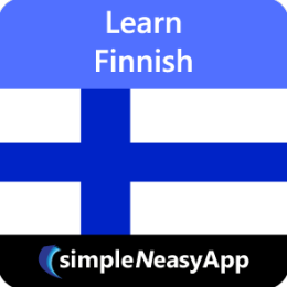 Learn Finnish - simpleNeasyApp by WAGmob