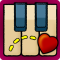 Valentine Play Along Piano