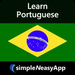 Learn Portuguese - simpleNeasyApp by WAGmob