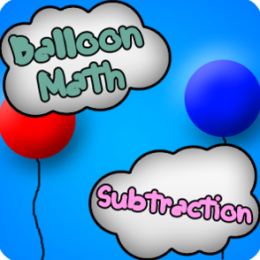 Balloon Math - Subtraction