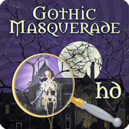 Gothic Masquerade HD - Fun Seek and Find Hidden Object Puzzles