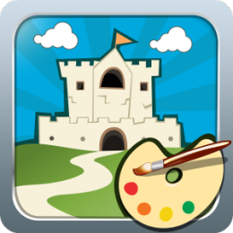 Fairy Tale Castles Coloring Book
