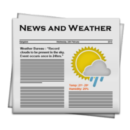 NewsHog: Google News & Weather