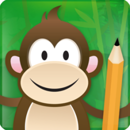 Monkey Write Learn Chinese