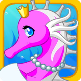 Elegant Seahorse - Dress Up