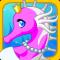 Elegant Seahorse - Dress Up