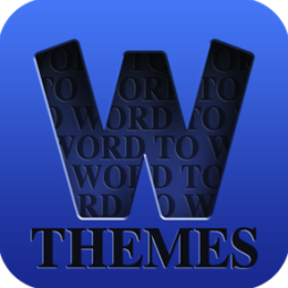Word to Word Themes - Fun & addictive matching and association