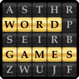 Word Search, Kriss Kross, Quote Falls, Hangman, Speed Words - Word Games Pack
