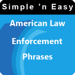 American Law Enforcement Phrases by WAGmob