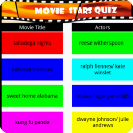 Movie Star Quiz