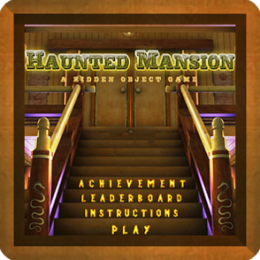 Haunted Mansion - Dynamic Hidden Objects Game