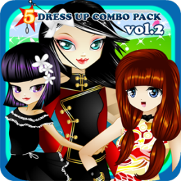 5 Dress Up Combo Pack vol. 2