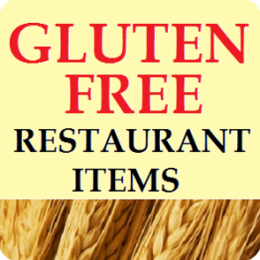Gluten Free Restaurant Items