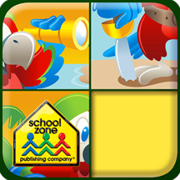 Tile Trouble - An Educational Game from School Zone