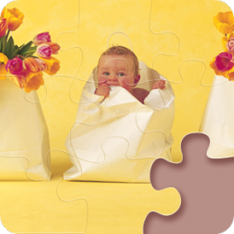 Magic Puzzles: Anne Geddes - 'Spring'