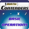 "Math Contenders: ""Basic Operations"""