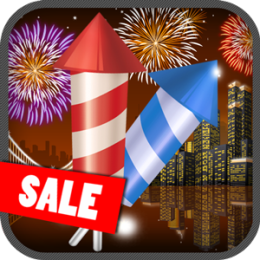 Funtastic Fireworks Display Image Effects