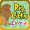 Big Cats Coloring Pro