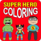 Super Hero Coloring Pro