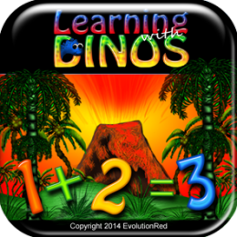 Addition: Learning with Dinos Series (Kids/Adult Dinosaur Themed Early Math Skills - Addition Facts)