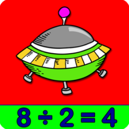 Adventures Outer Space Math - Division Games