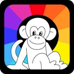 Fashion Monkey Coloring Pro