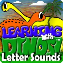 Alphabet Letter Sounds- Learning With Dinos (Learn your ABC's with Dinosaurs)