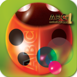 Cute ABC Coloring Book 1: Animal Alphabet