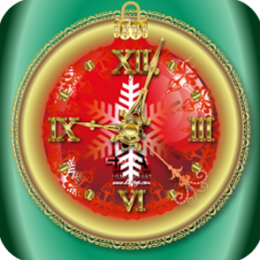 Winter Clock HD+