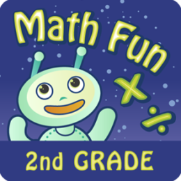Math Fun 2nd Grade: Multiplication & Division HD
