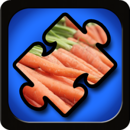 Veggie Puzzles for Kids